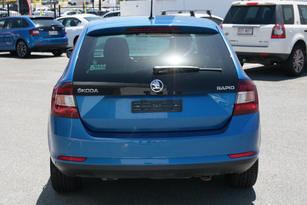 2018 MY18.5 Skoda Rapid NH MY18.5 Hatchback