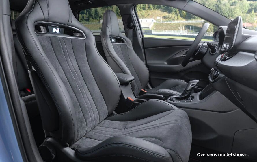 i30 N Inside, it's unlike any other.