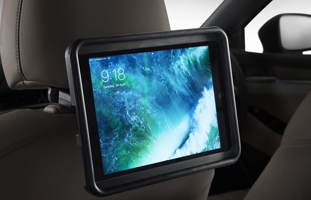"<img src=""Rear Seat Entertainment Holder For Ipad®"