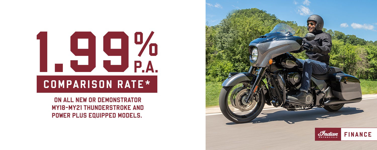 1.99% P.A FINANCE COMPARISON RATE ON SELECTED MODELS*