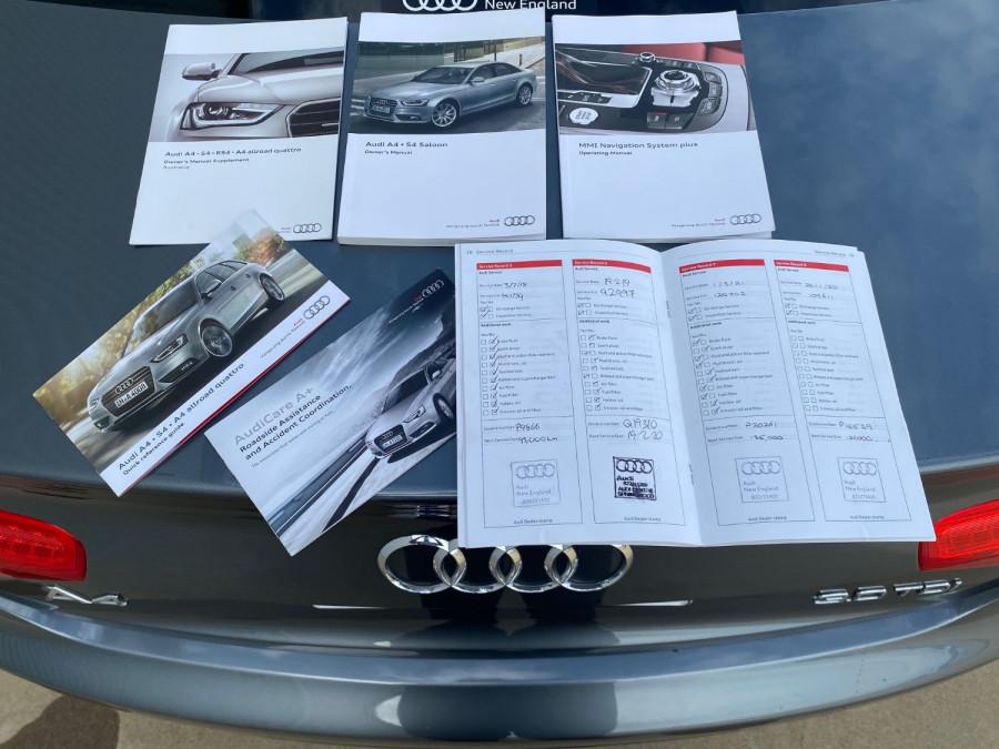 MY13 Audi A4 B8 8K Turbo Sedan Image 14