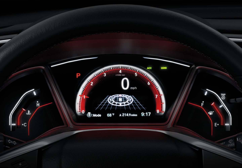 Civic Hatch Driver Interface