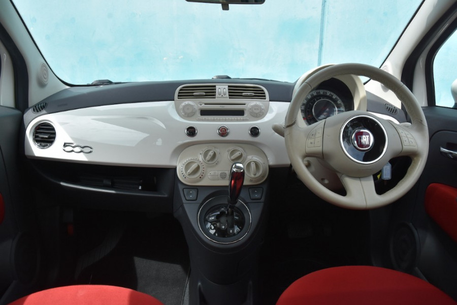 2008 Fiat 500 Vehicle Description.  1 Pop Hatchback 3dr Man 6sp 1.4i Pop Hatchback Image 8
