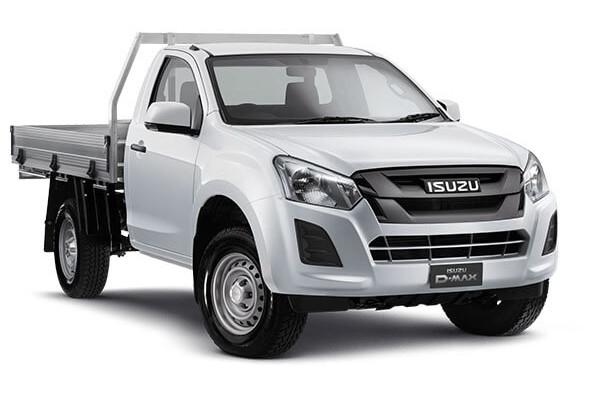 Isuzu UTE D-MAX SX Single Cab Chassis 4x4