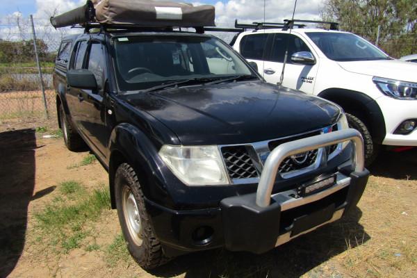2012 Nissan Navara D40 S6 MY12 RX Utility
