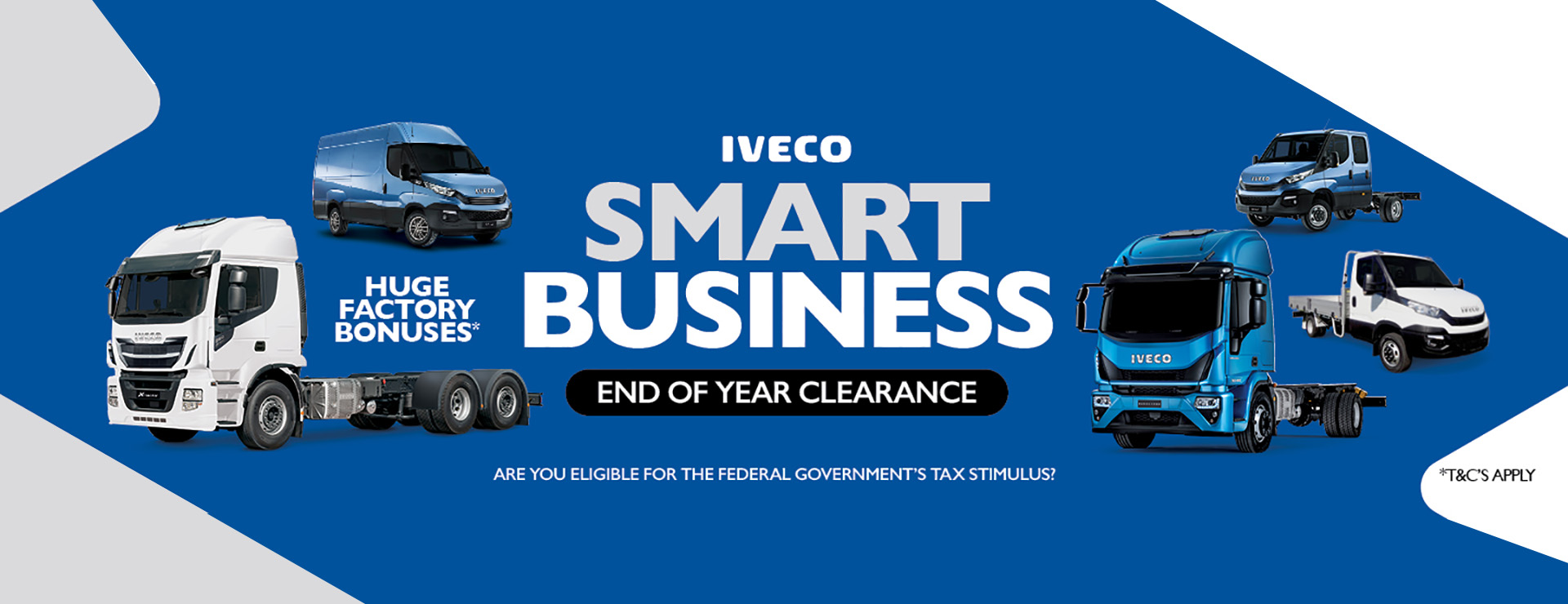 IVECO End of Year Clearance