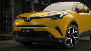 C-HR Distinctive Design