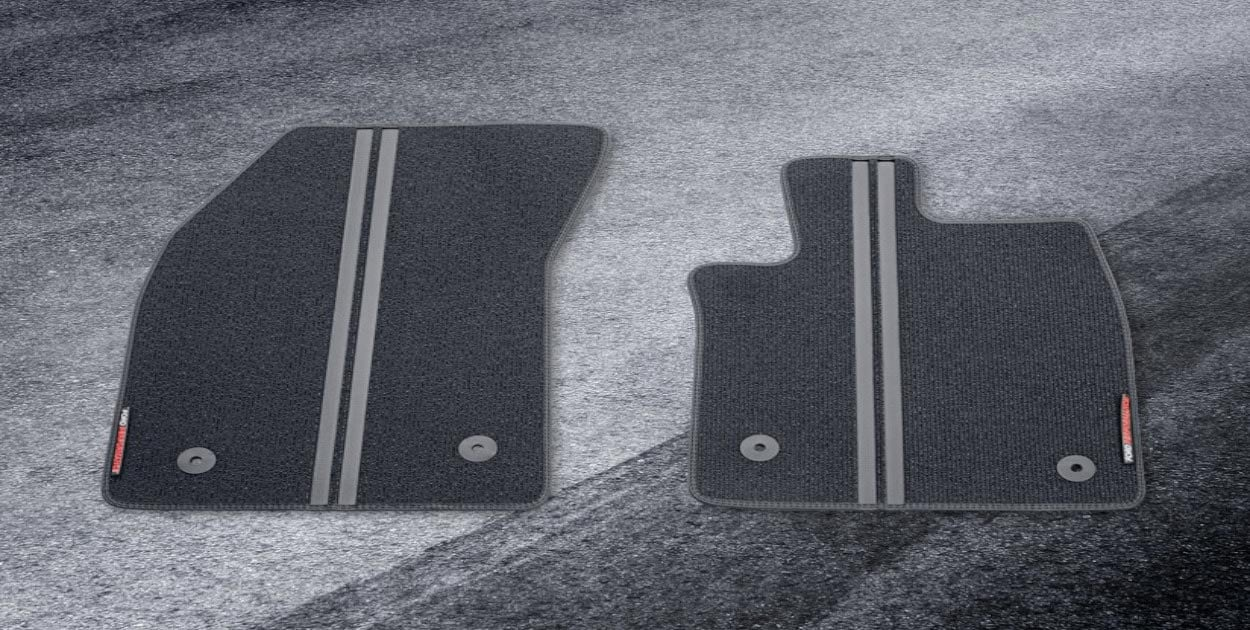 "<img src=""Floor Mats - Ford Performance Style Front for Auto Transmission"