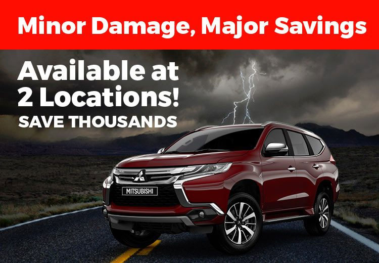 Hail Damage Mitsubishi Sale
