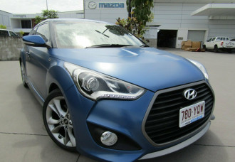 Hyundai Veloster SR Coupe D-CT Turbo + FS4 Series II
