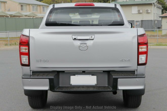2020 MY21 Mazda BT-50 TF XT 4x4 Dual Cab Chassis Utility Image 5