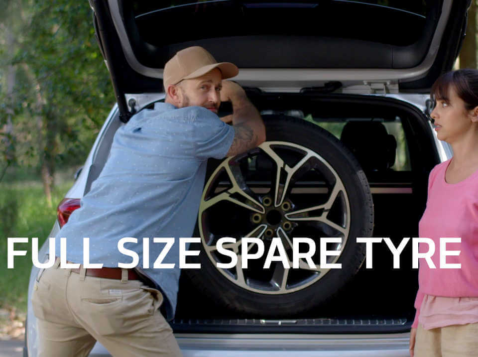 Sportage Full Size Spare Tyres