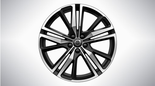 "20"" 5-Triple Spoke Matt Black Diamond Cut - 1052"