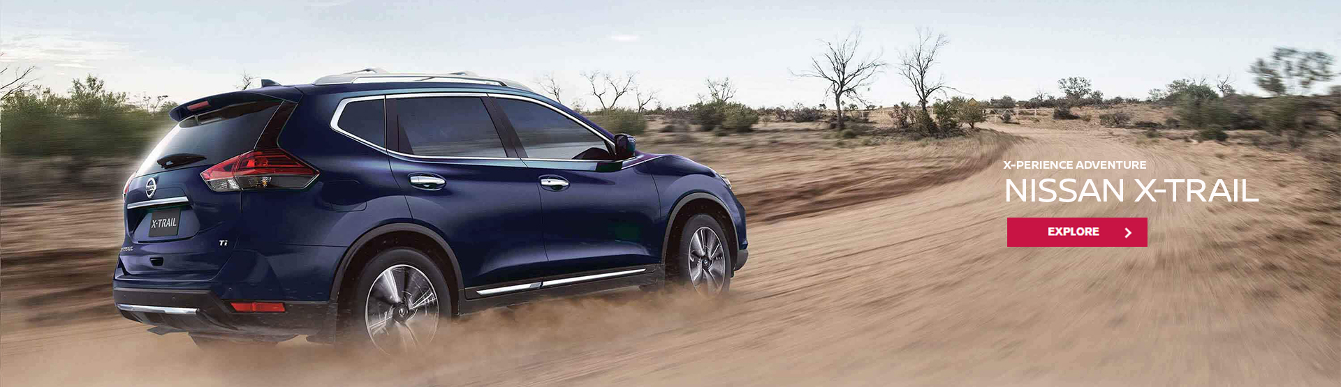 x-perience adventure. Nissan X-trail. Explore now