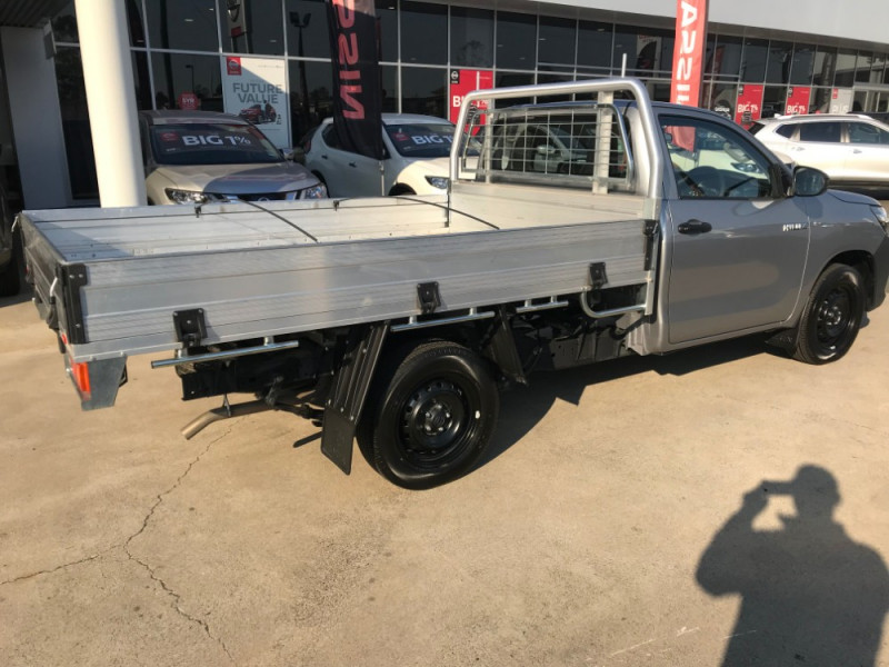 2018 Toyota HiLux TGN WorkMate 4x2 Single-Cab Cab-Chassis Cab chassis