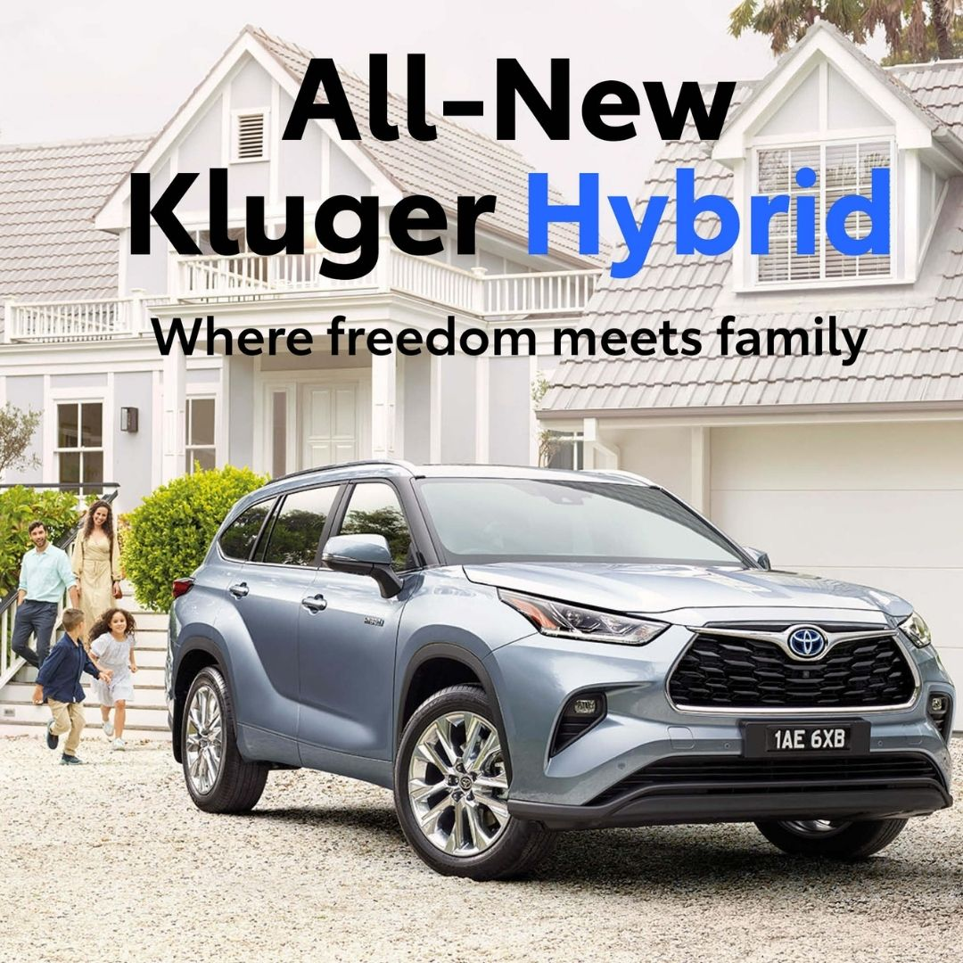 The All-New 2021 Kluger Is In Stock!