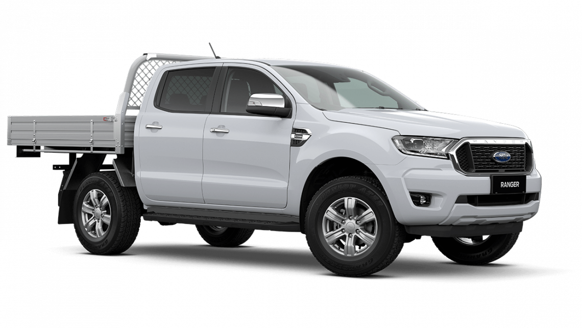 2020 MY21.25 Ford Ranger PX MkIII XLT Double Cab Chassis Cab chassis Image 8