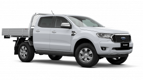 2020 MY21.25 Ford Ranger PX MkIII XLT Double Cab Chassis Utility