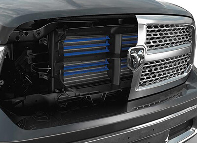 1500 Laramie ACTIVE GRILLE SHUTTERS