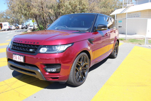 2016 MY16.5 Land Rover Range Rover Sport L494 16.5MY SDV8 Suv Image 4