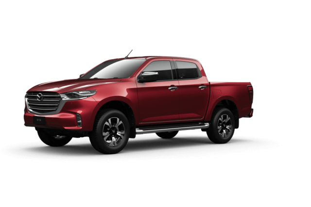 2021 Mazda BT-50 TF GT Cab chassis