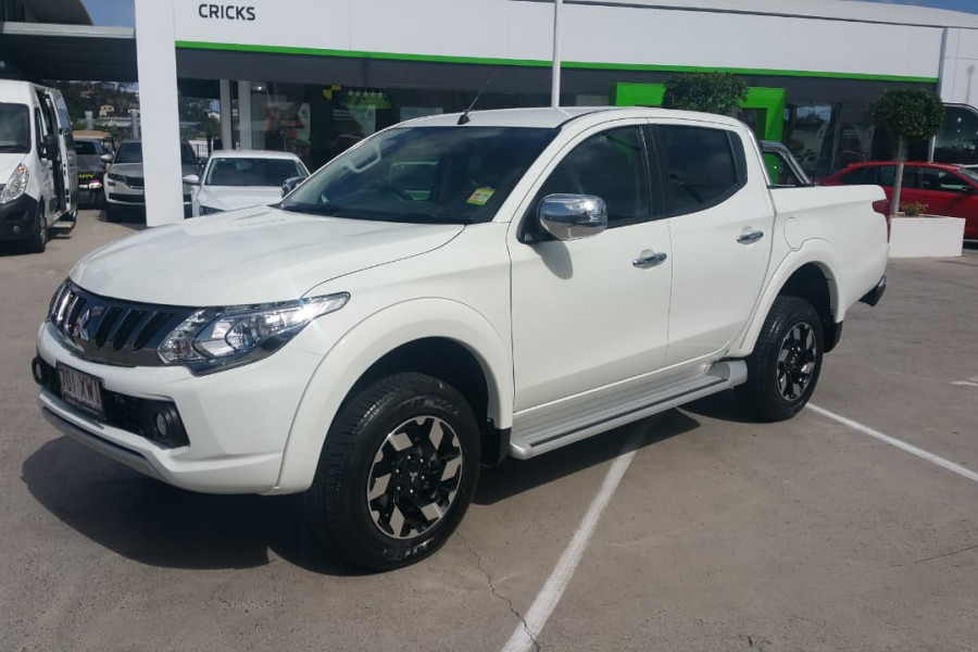 2017 Mitsubishi Triton MQ Exceed Double Cab Pick Up 4WD Utility for
