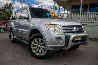 2011 Mitsubishi Pajero NT MY11 Exceed Suv
