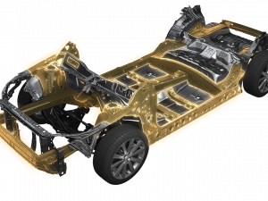 Subaru Global Platform Image