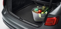Luggage compartment liner