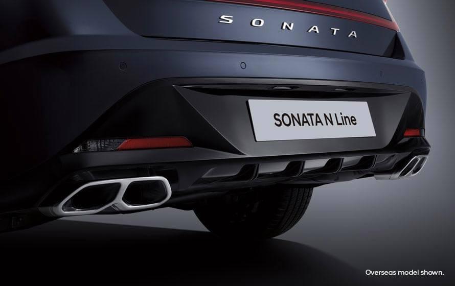 Sonata N Line Quad exhaust system.