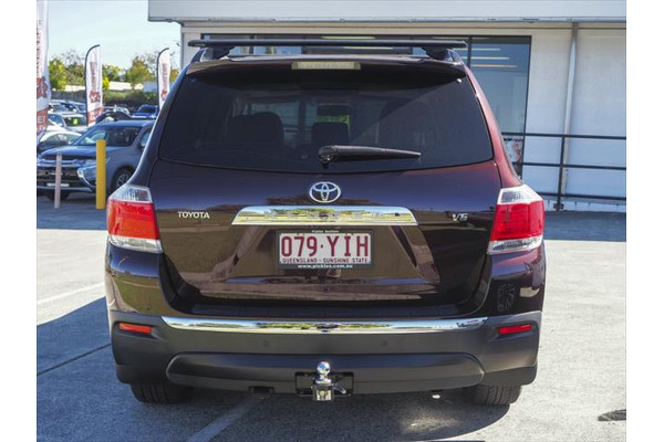 2012 Toyota Kluger GSU40R MY12 Grande Suv Image 2