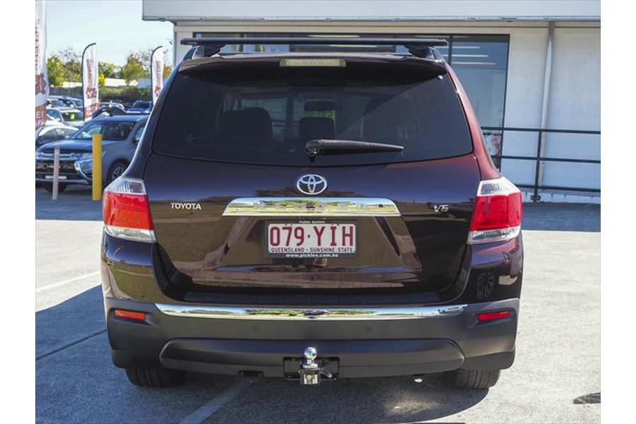 2012 Toyota Kluger GSU40R MY12 Grande Suv
