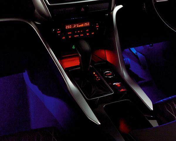 Interior floor illumination - BLUE