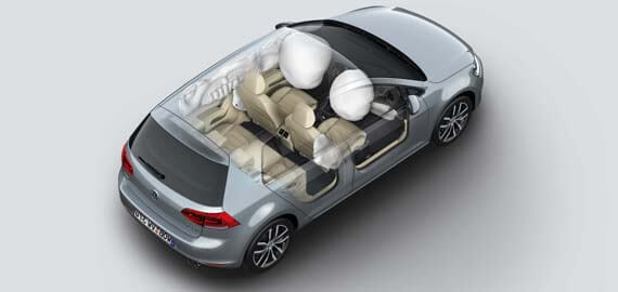 Golf Seven Airbags