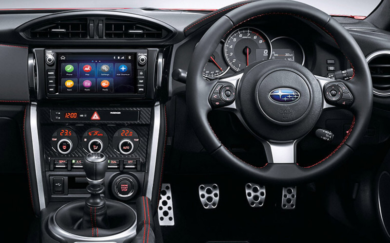 Subaru BRZ Specs and Features Image