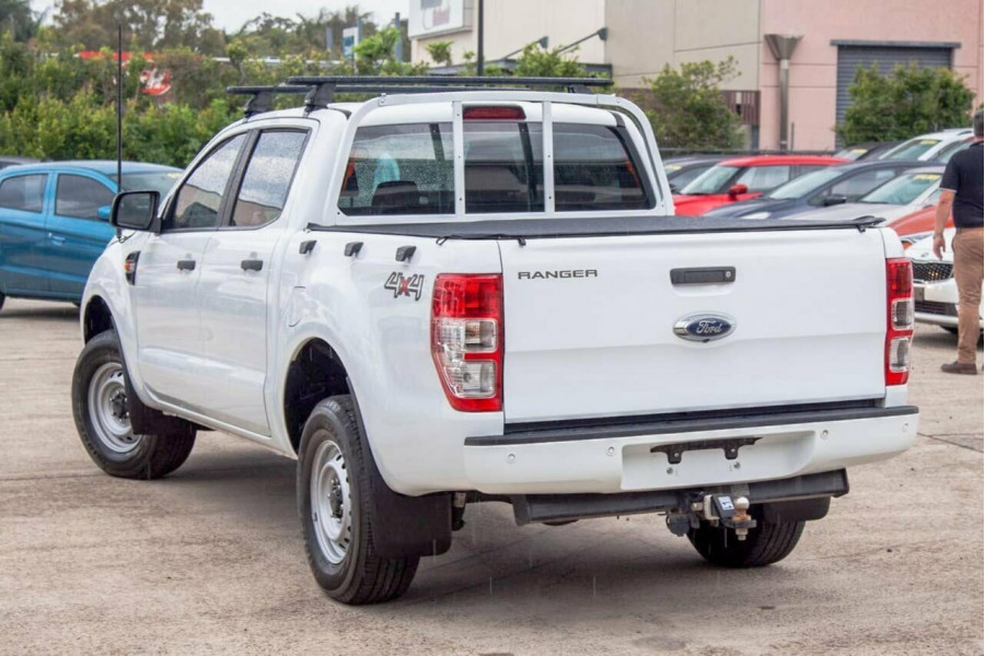 2017 Ford Ranger PX MkII MY17 Update XL 3.2 (4x4) Crew cab utility