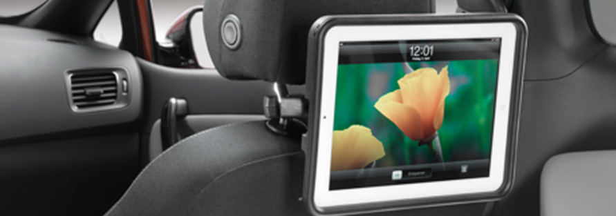 "<img src=""iPad Cradle - Rear Seat Entertainment"
