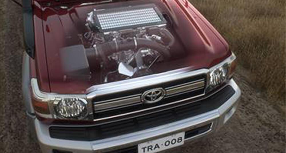 LandCruiser 70 4.5-litre V8 Turbo-diesel