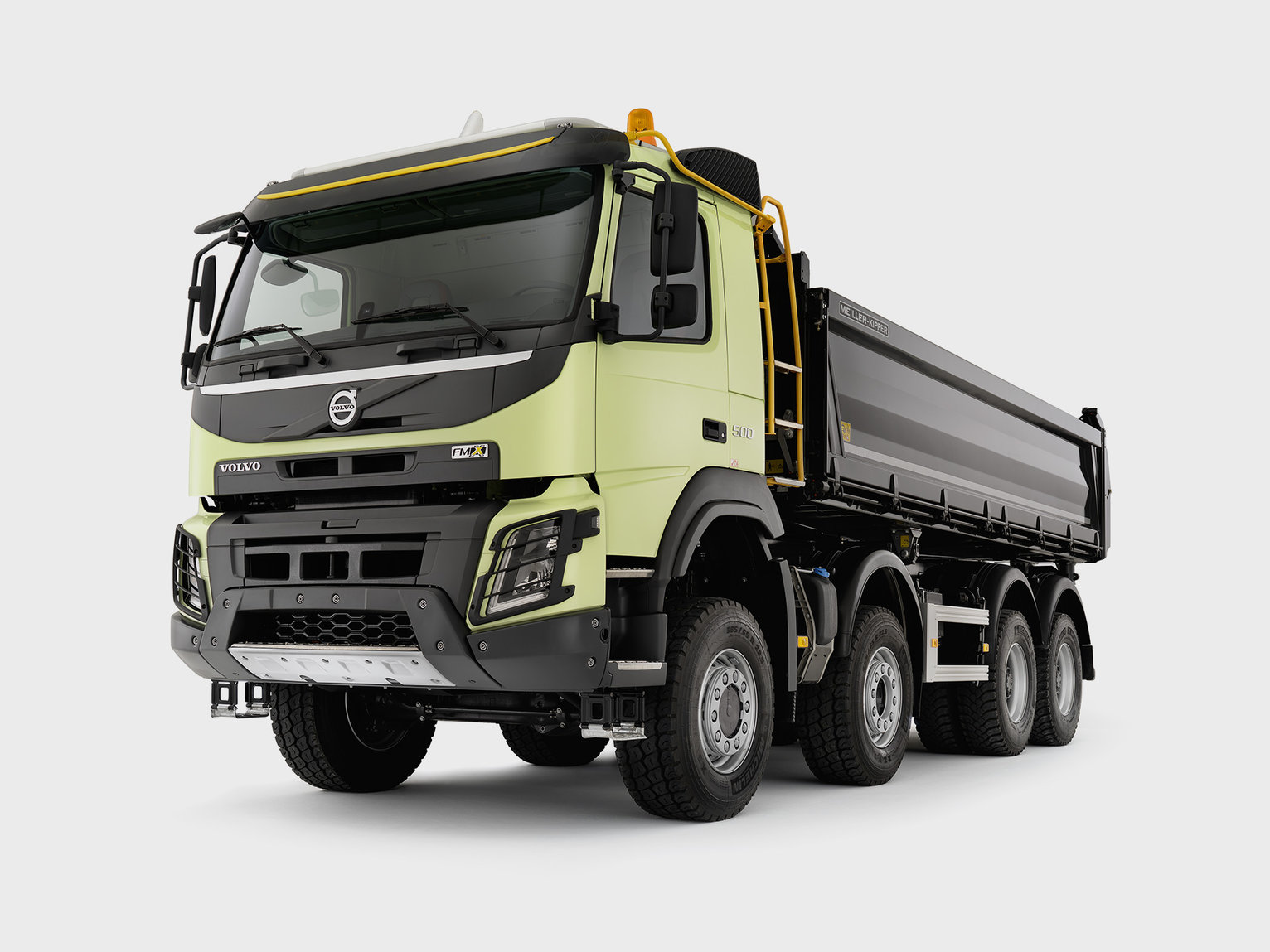 Volvo FMX The construction giant