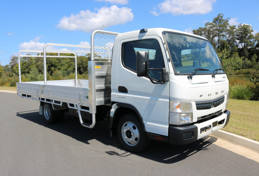2021 Fuso Canter WIDE CAB 515 Wide Tradesman Tray Tray