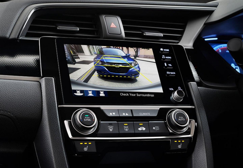Civic Hatch Multi-Angle Rear View Camera