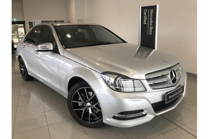 2013 Mercedes-Benz C Class W204 MY13 C200 Sedan