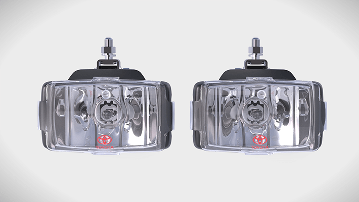 Rectangular Driving Lights
