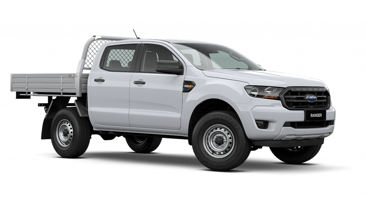 2020 MY20.75 Ford Ranger PX MkIII XL Double Cab Chassis Cab chassis Image 2