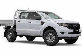 2021 MY21.25 Ford Ranger PX MkIII XL Double Cab Chassis Ute