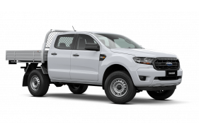2021 MY21.25 Ford Ranger PX MkIII XL Double Cab Chassis Cab chassis Image 2