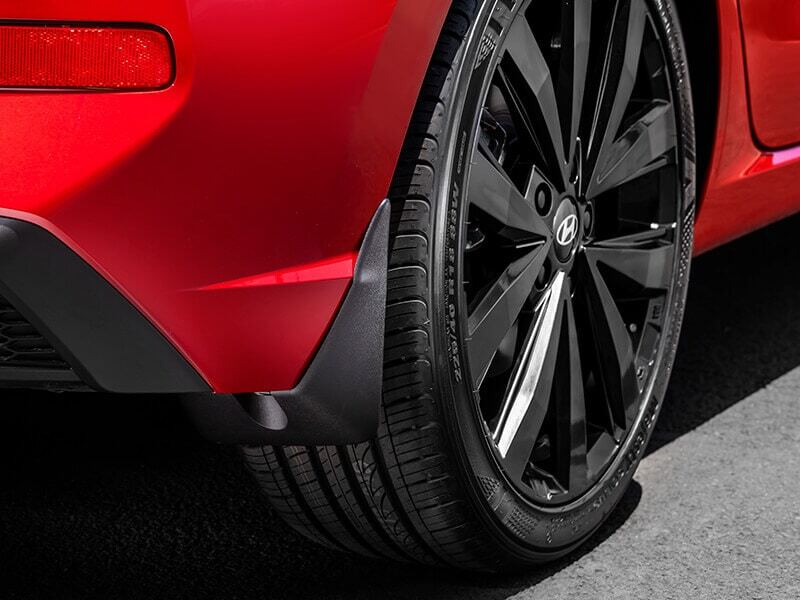 Front or rear mudflaps (set of 2)