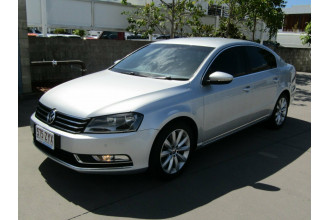 2012 MY13 Volkswagen Passat Type 3C MY13 118TSI DSG Sedan Image 3
