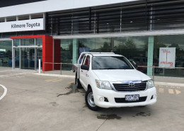 Toyota HiLux SR GGN15R MY12