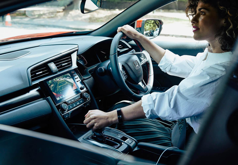 Civic Hatch Handling